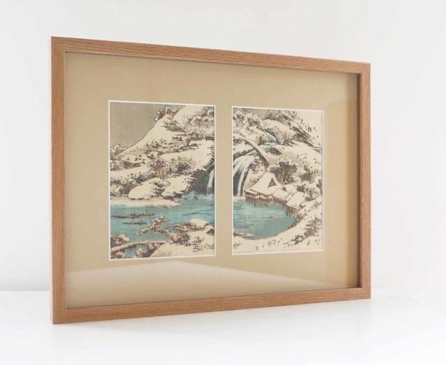 Paysage hivernal à la cascade (1849)