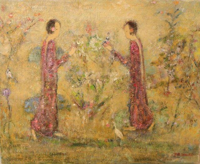 Dialogue avec la fleur
