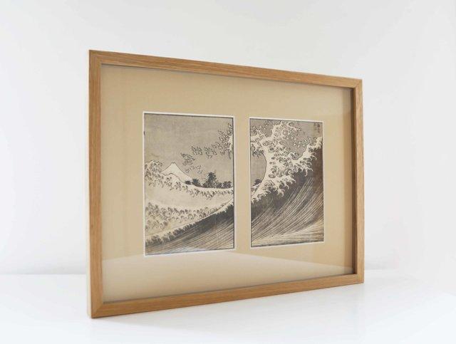 La vague et le Mont Fuji
