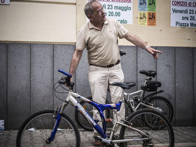 20.Renato Natale in bici