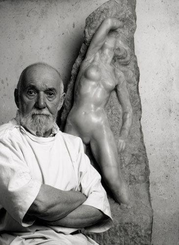Jean Fréour, sculpteur, Batz-sur-Mer, 2000