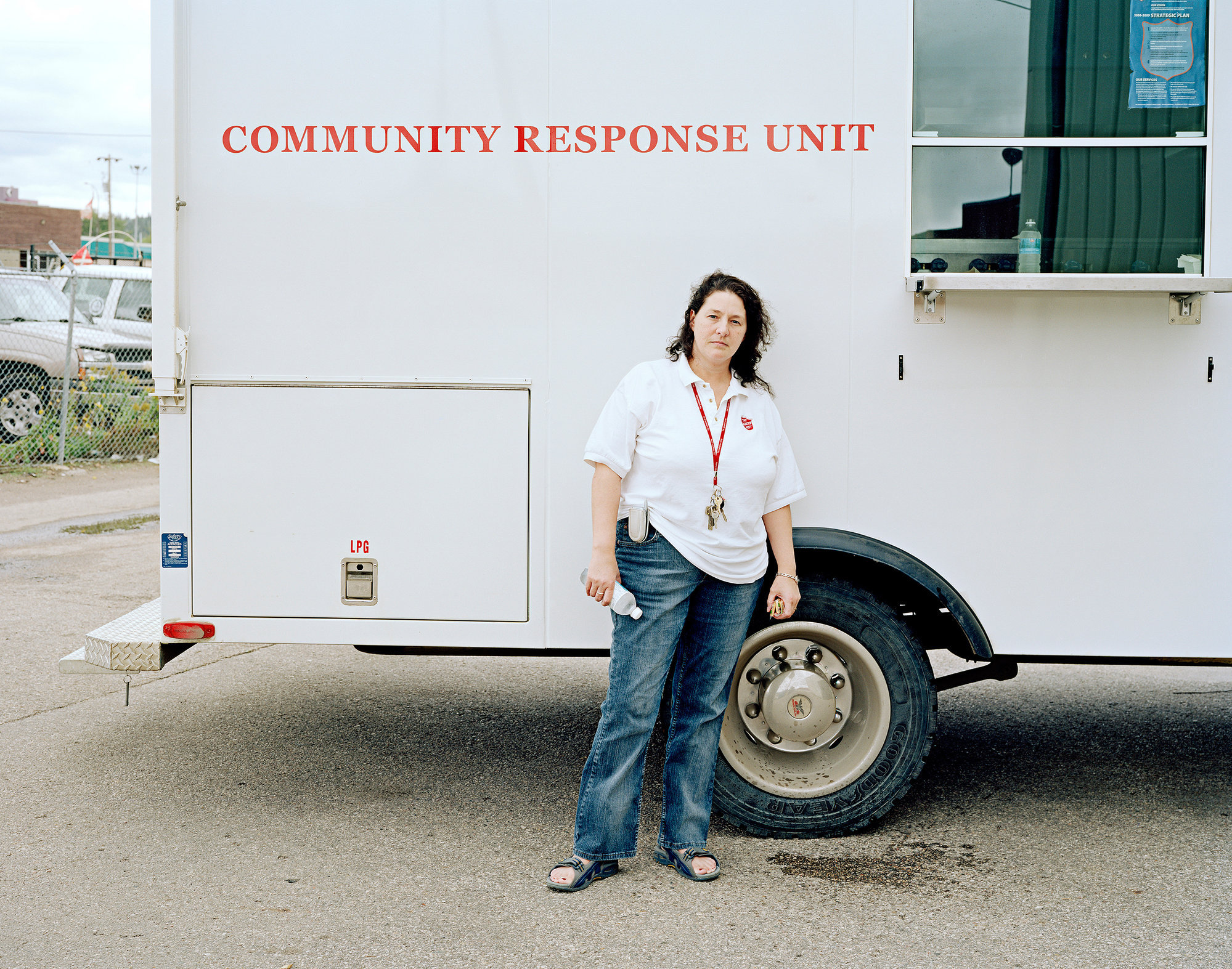Cathy Harris, Salvation Army, Fort McMurray.