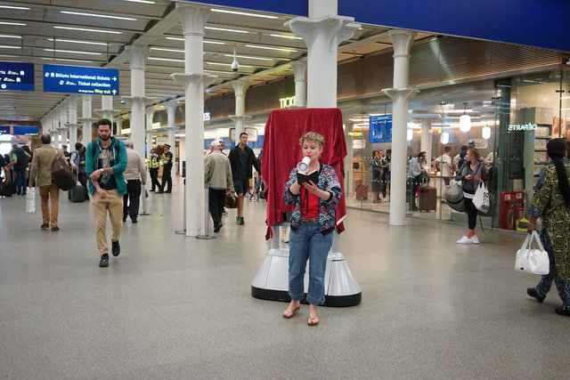 St. Pancras International, Photo: Curator Xiaoyi Nie