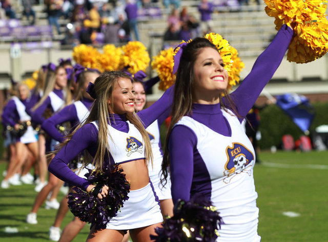 ECU Pirates Cheerleaders