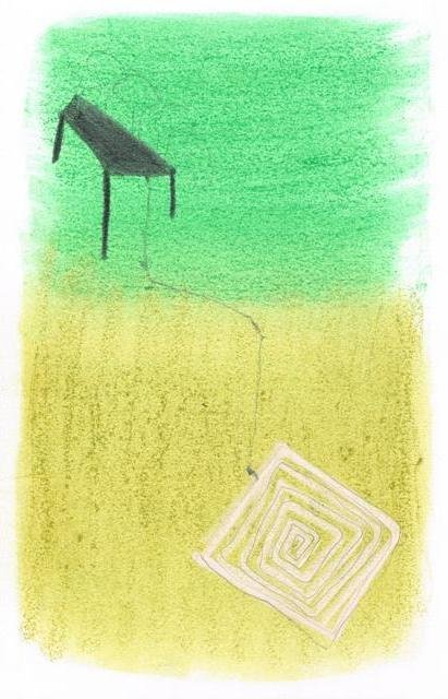 Zonder Titel, 2013  16,2 x 24,8 cm