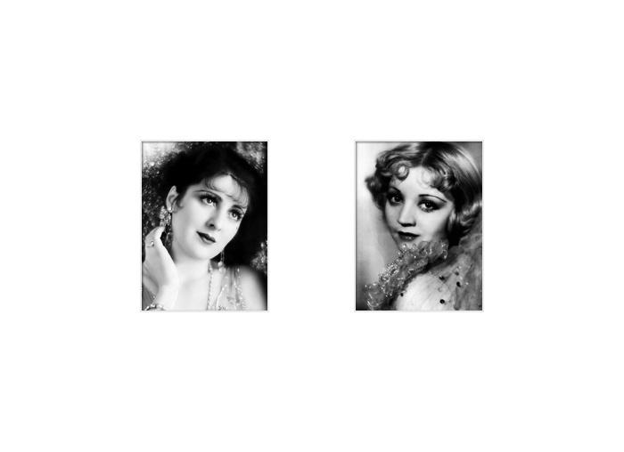 Billie DOVE / Alice WHITE