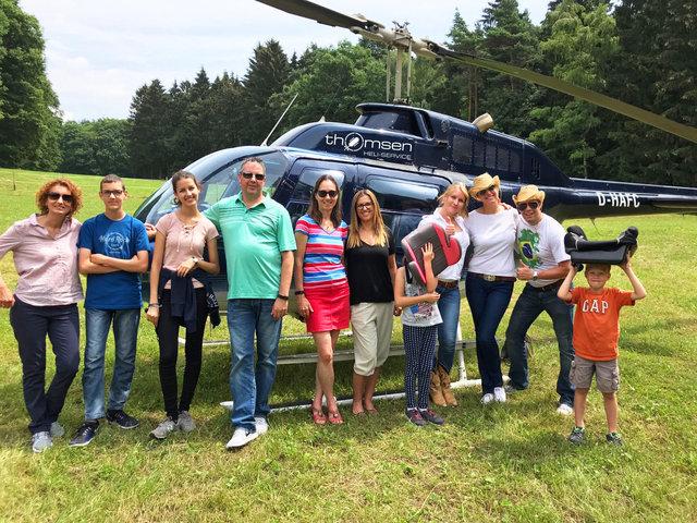 Helikopter-Aussenlandung Rettershof