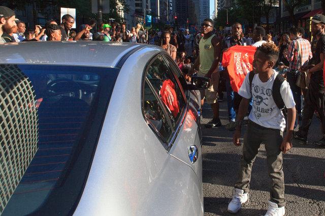 Black Lives Matter Protest - Chicago