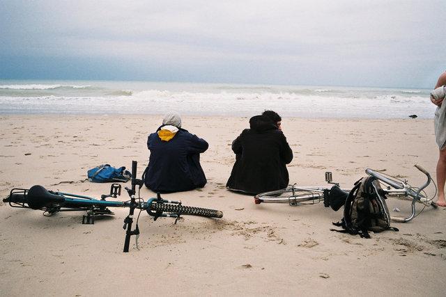 en attendant la marée, varengeville-sur-mer, 2012.jpg