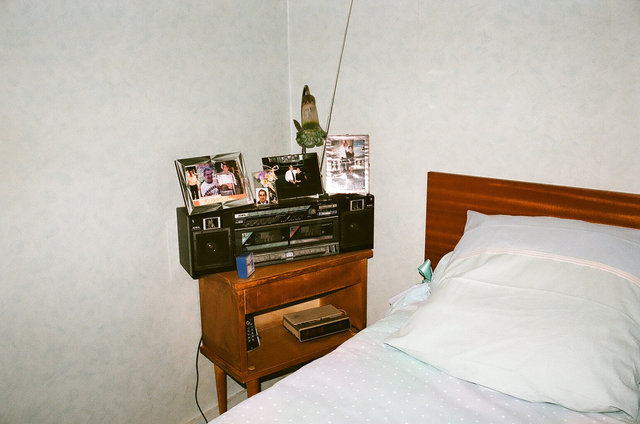 9pm at grandma's, before they demolished the house, Venissieux, 2012.jpg