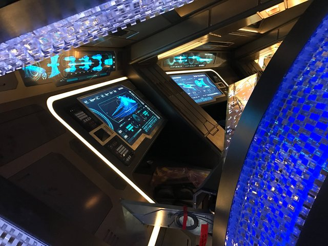 USS DISCOVERY: BRIDGE, OPS STATIONS