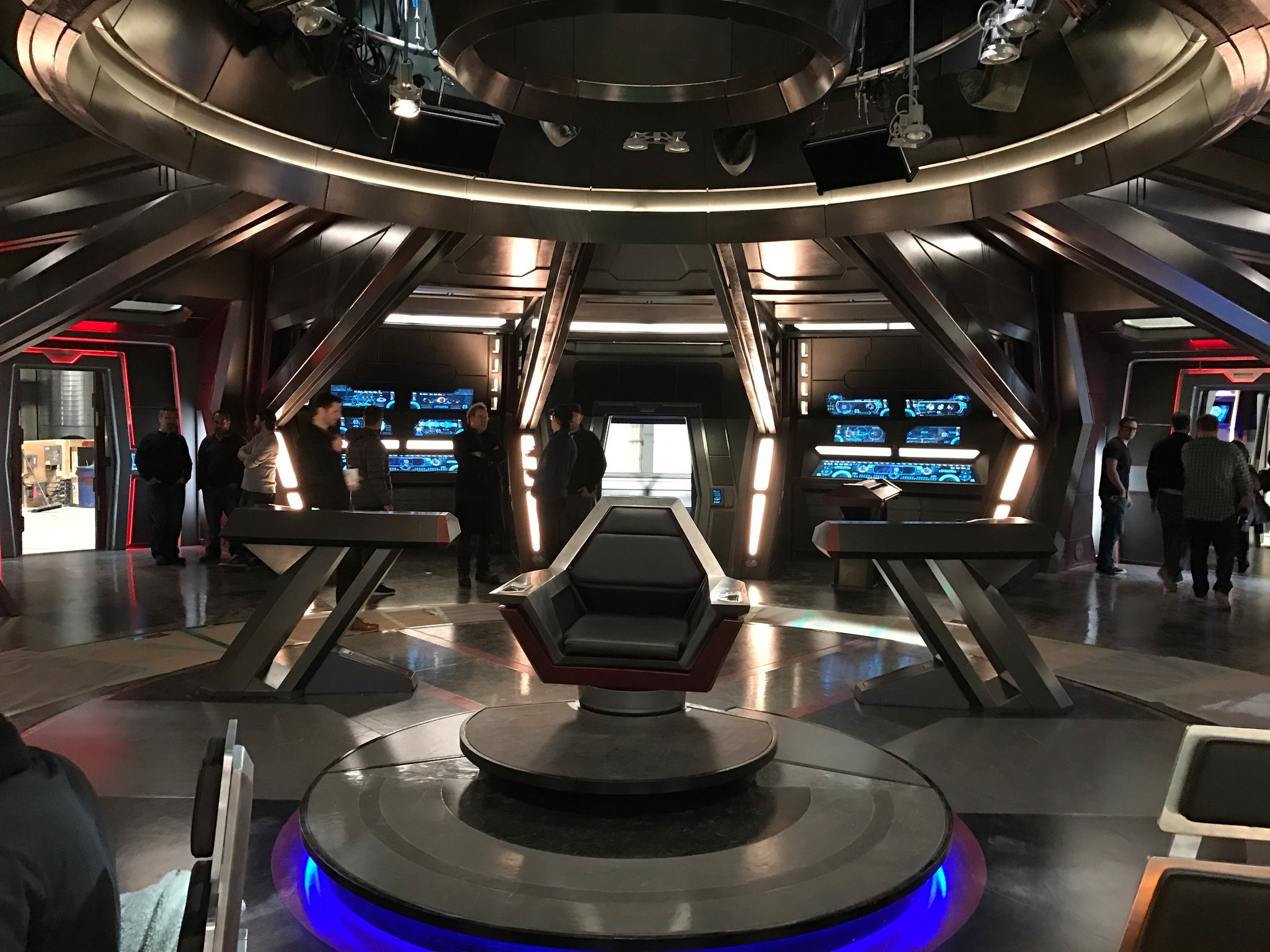 USS SHENZHOU: BRIDGE, CAPTAIN'S CHAIR