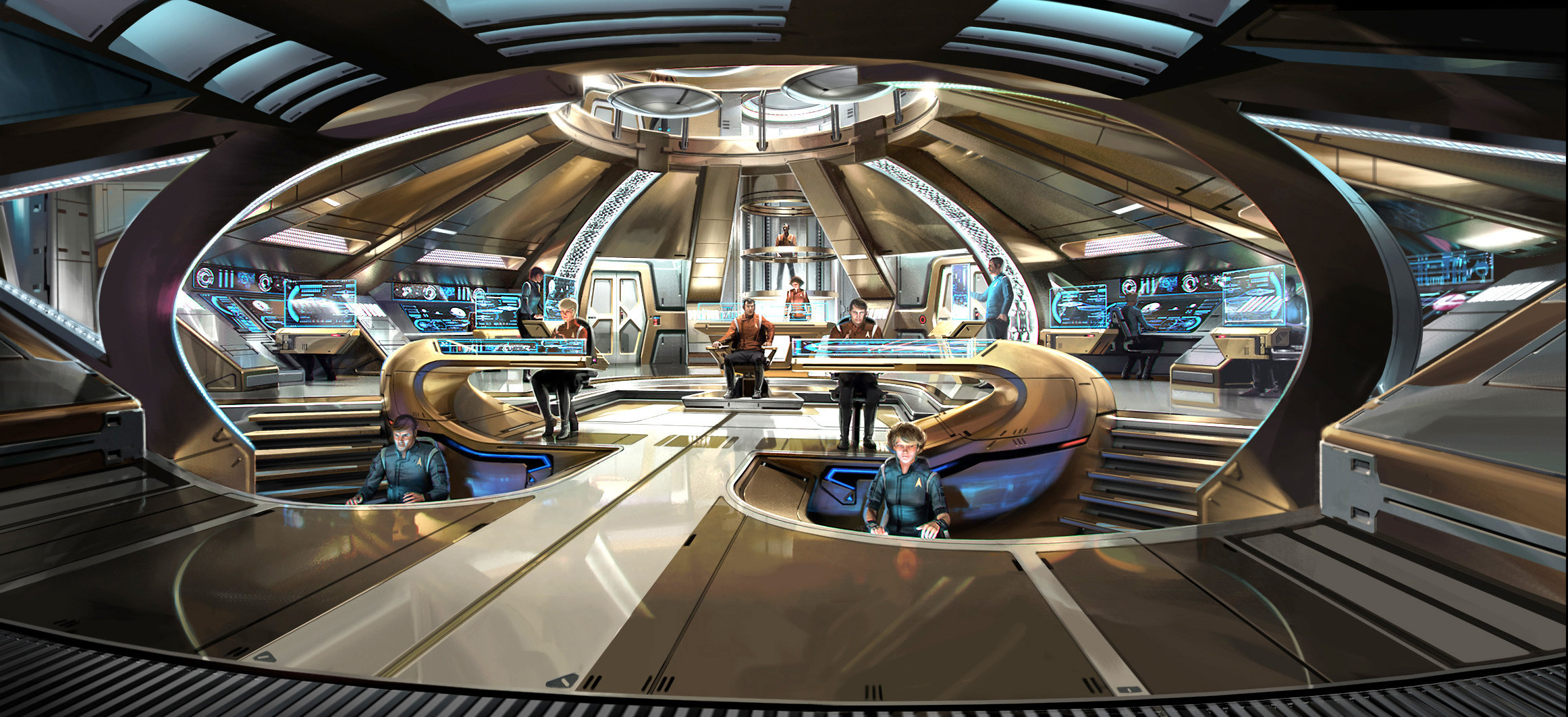 USS DISCOVERY: BRIDGE