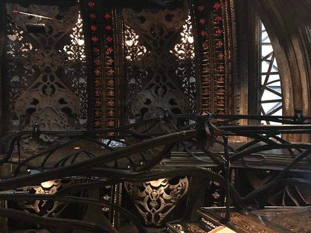 KLINGON SARCOPHAGUS SHIP: BRIDGE