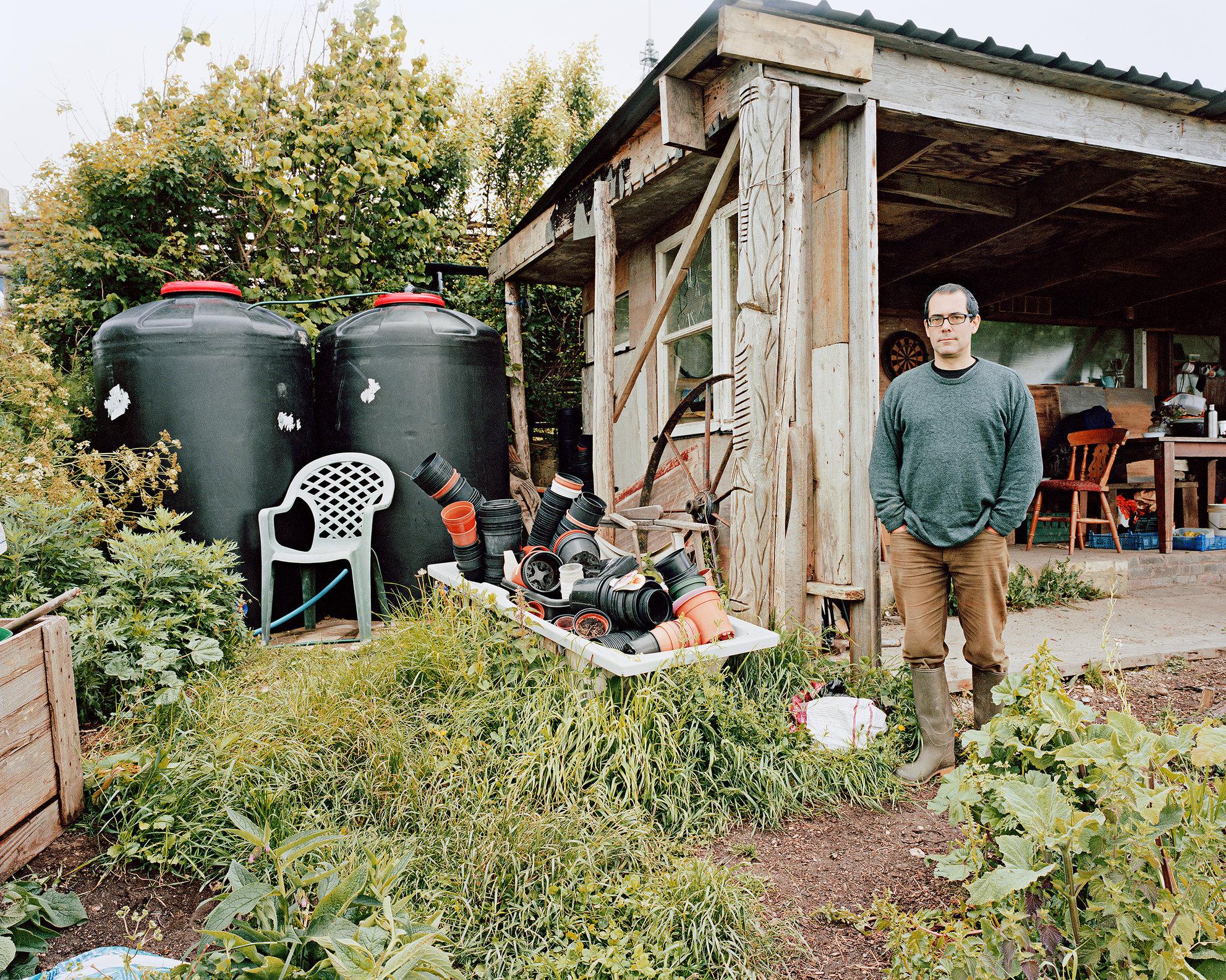 John Fryer, Whitehawk Community Food Project