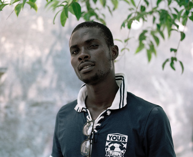 Ustin, 22, Nigeria / Sicily 2015