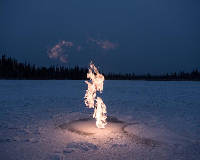 Methane experiment, Alaska 2017