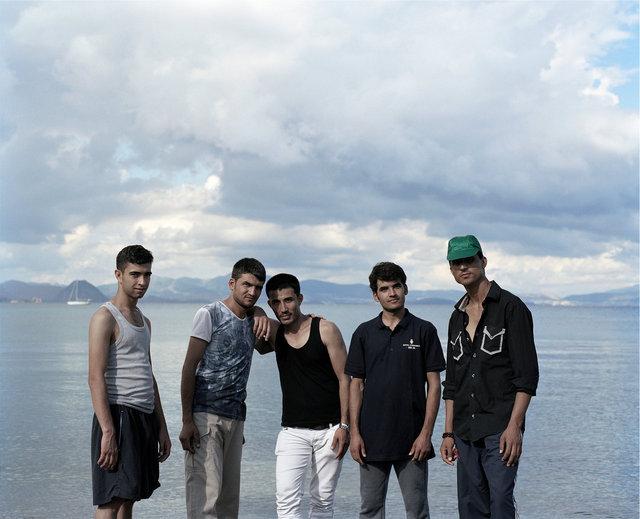 Irshad 20, Ali 20, Mohammad 22, Khisrow 21, Jomagul 20, Afghanistan / Kos, 2015