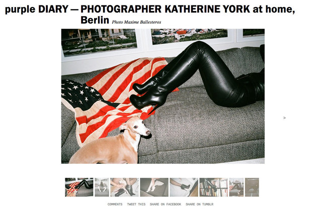 purple DIARY   PHOTOGRAPHER KATHERINE YORK at home  Berlin.jpg