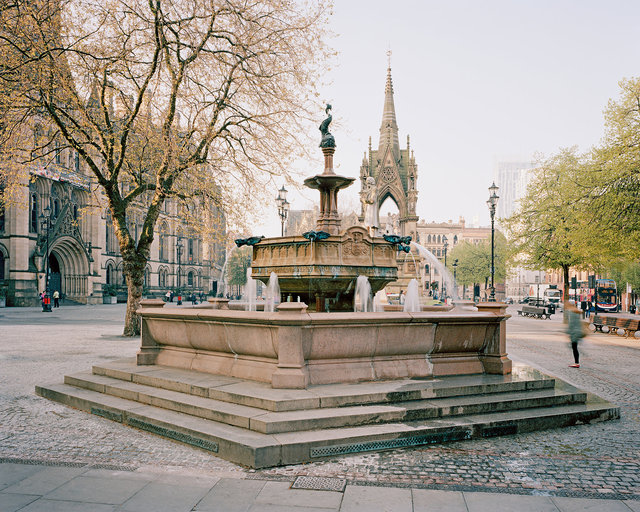 Jubilee Fountain, Albert Square, Manchester