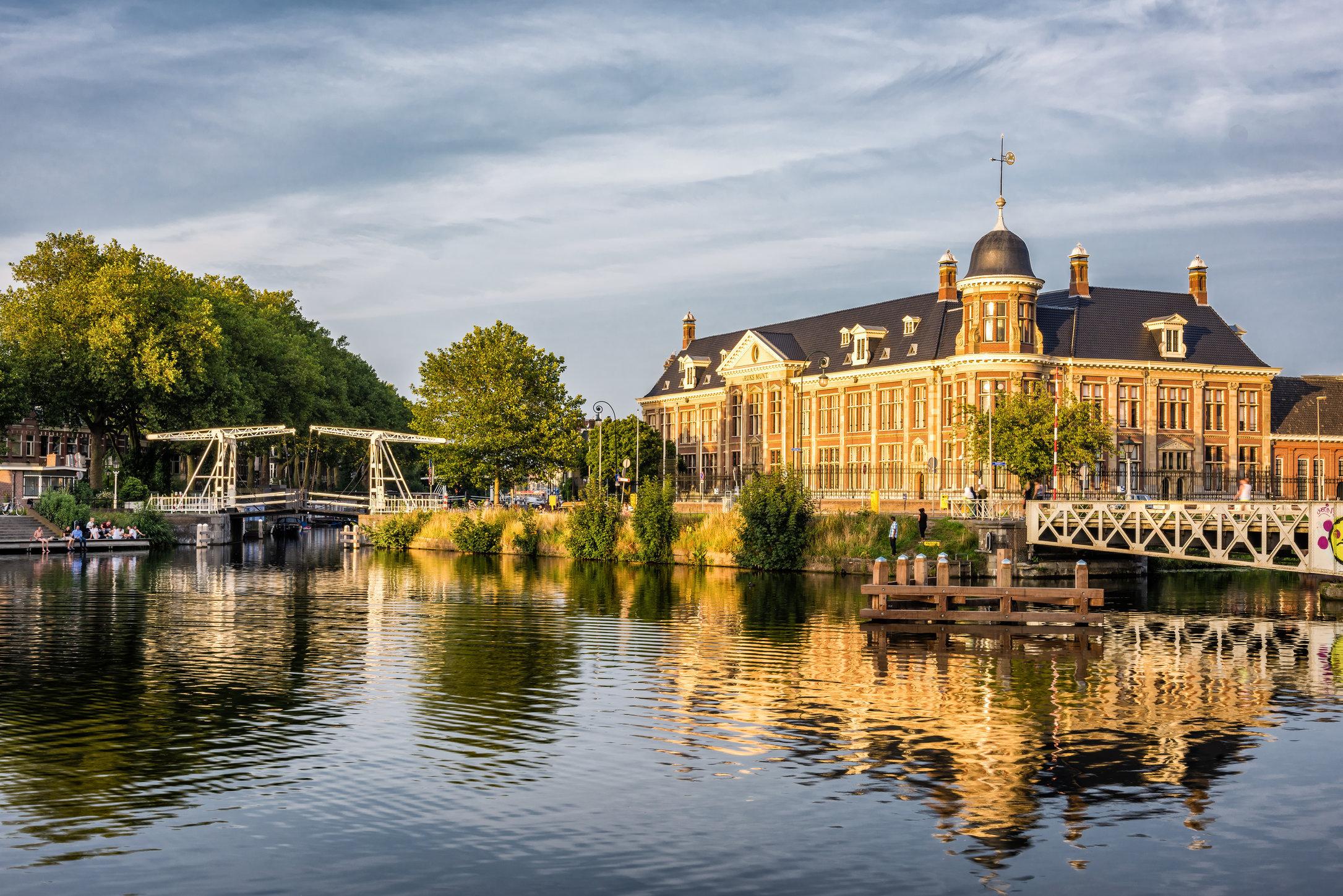 Rijksmunt en de Abel Tasmanbrug, Utrecht