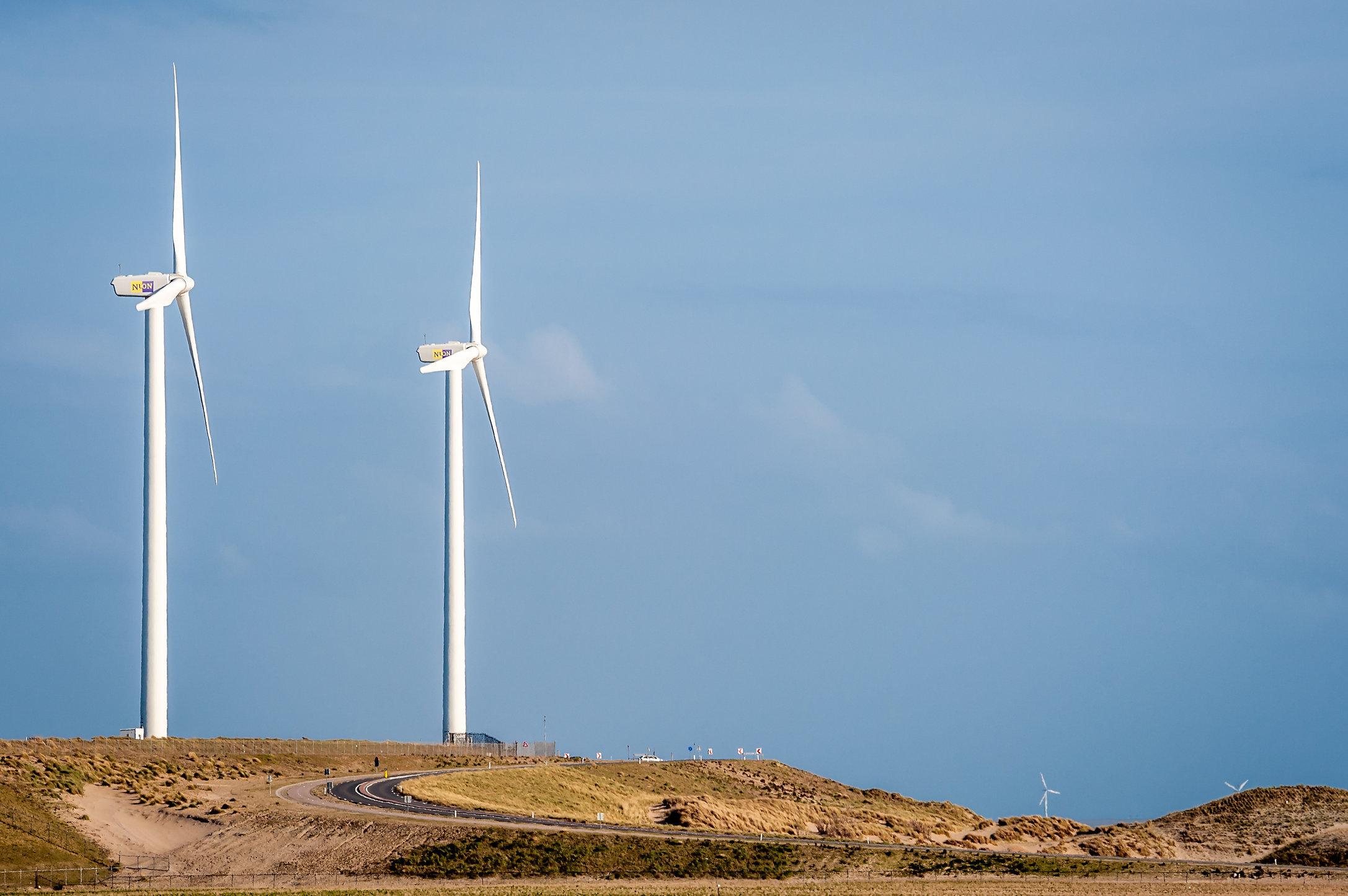 Windpark Nuon Tweede Maasvlakte