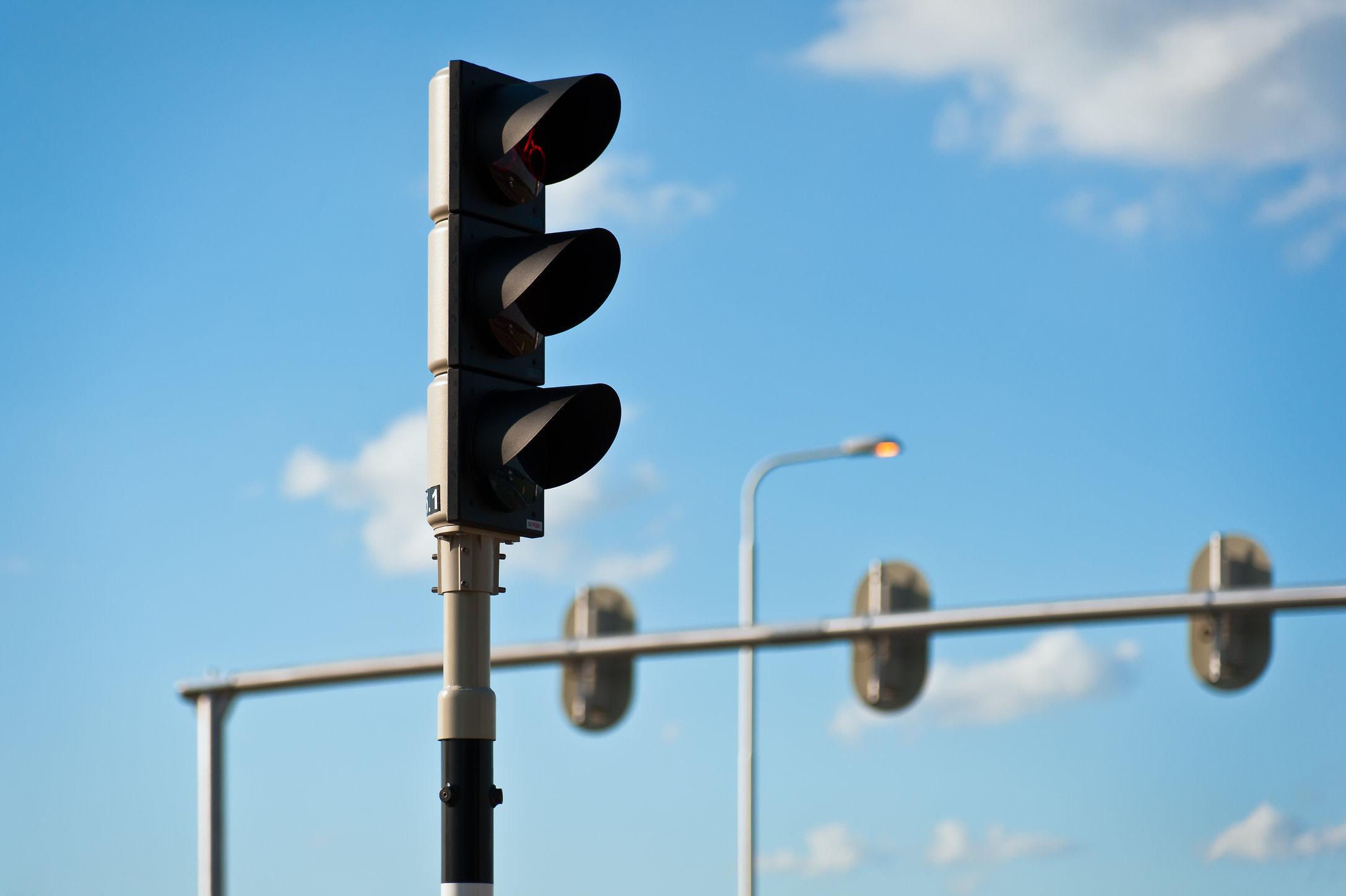 Verkeersregelinstallatie, Hapert