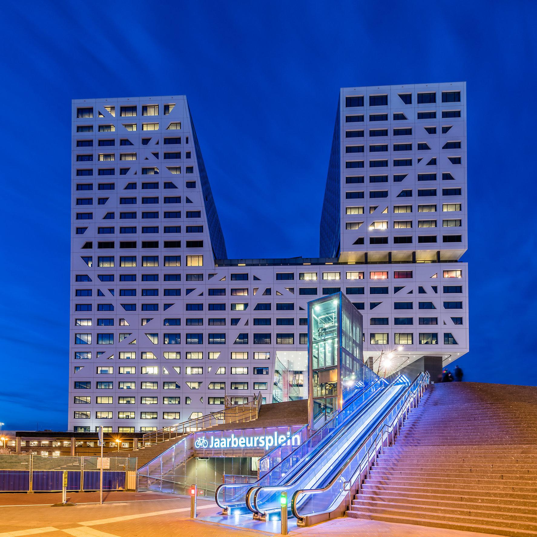 Stadskantoor Utrecht (voor de start van de bouw van WTC Utrecht)