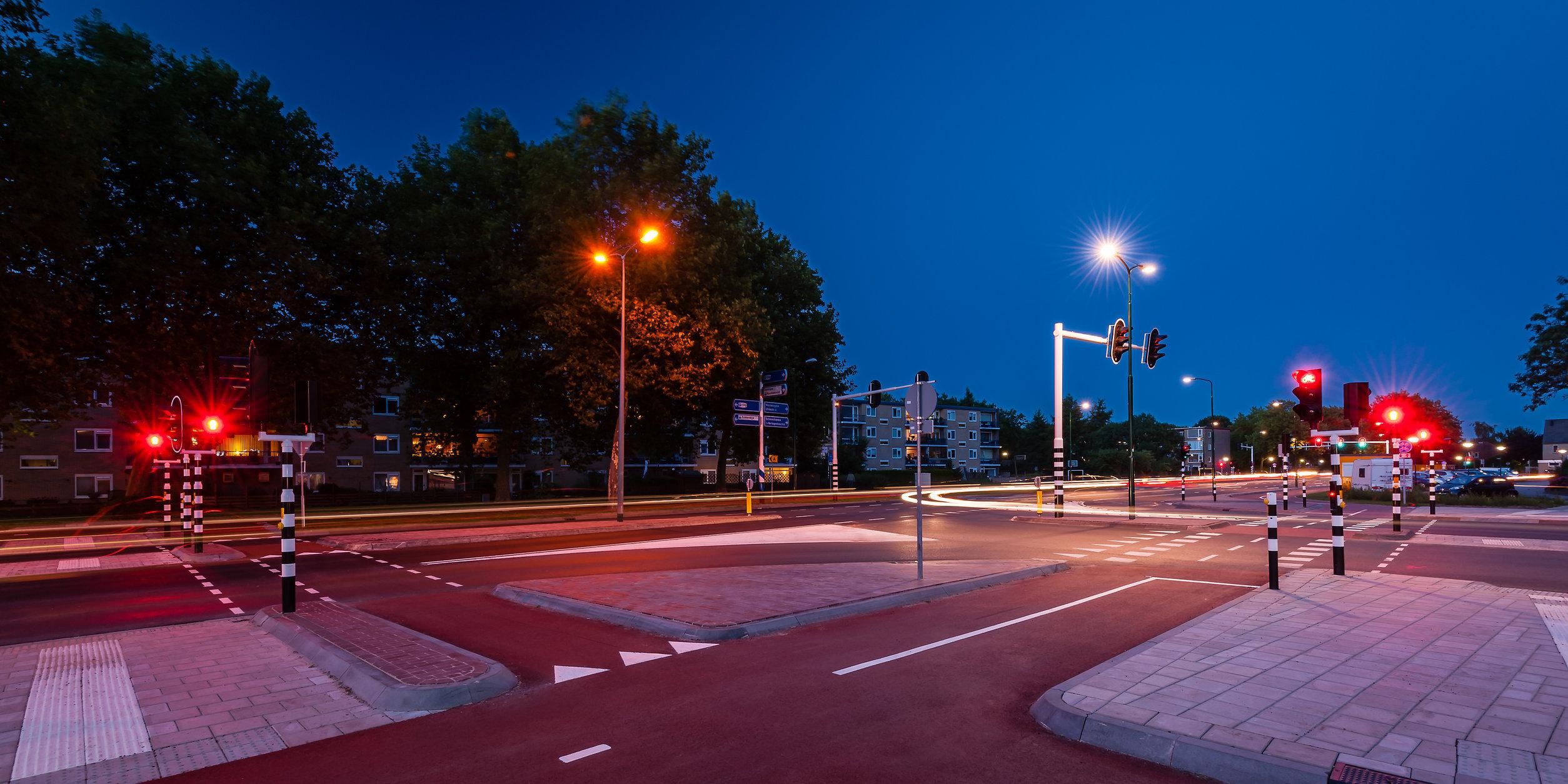 Utrechtseweg, IJsselstein na de reconstructie