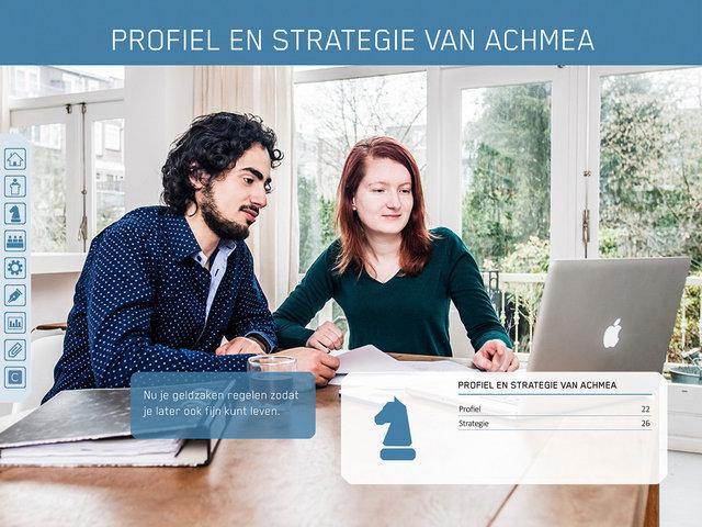 Achmea Holding Jaar Rapport 2016
