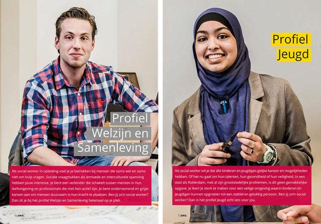 Hogeschool Rotterdam brochure