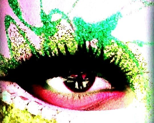 BE CREATIVE: LIME, PINK, BLACK SHADOW LINERS.