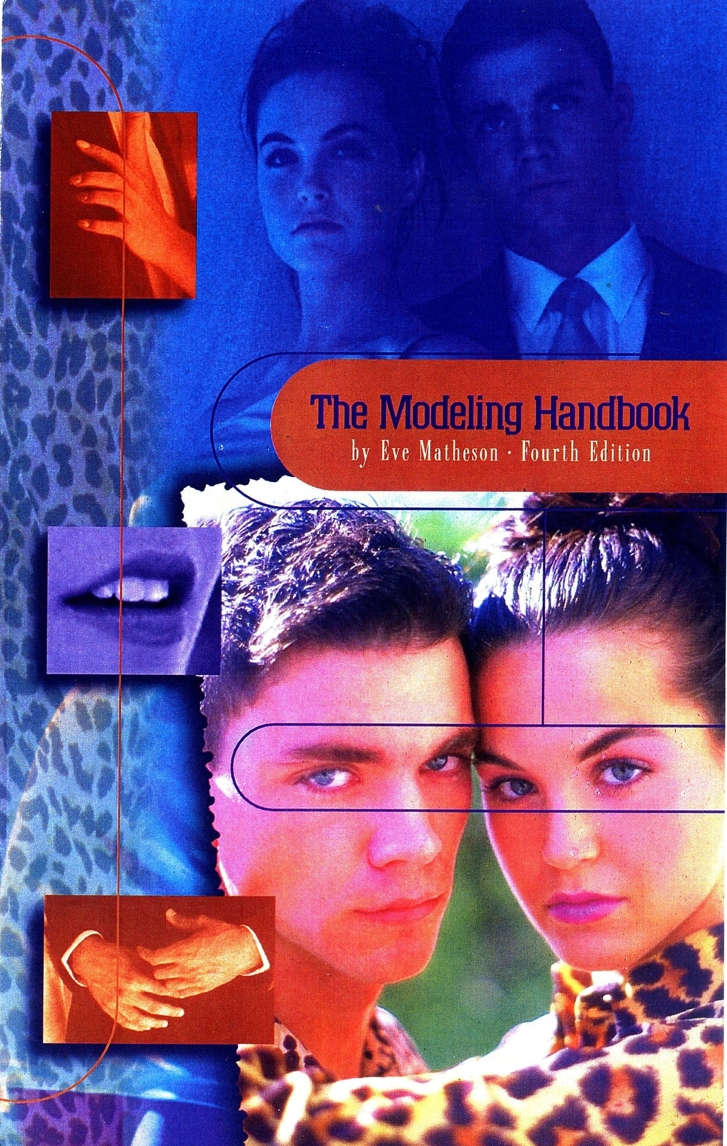 Top models PAT and REBECCA are featured on the cover of international MODELING HANDBOOK.