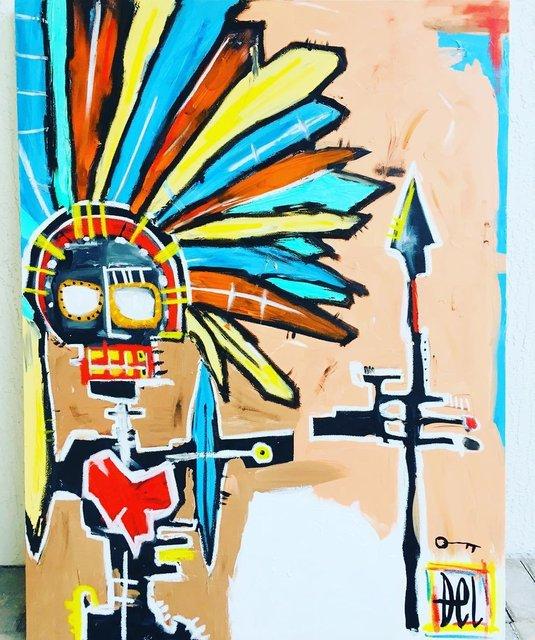 DEL -  INTERNATIONAL FAMED PAINTER/ARTIST