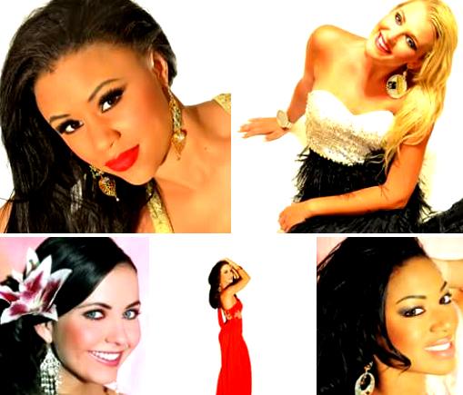TATIANA, MEGHAN, TAYLOR, MICAELA, JAYCEE all wear CHANDELIERS.