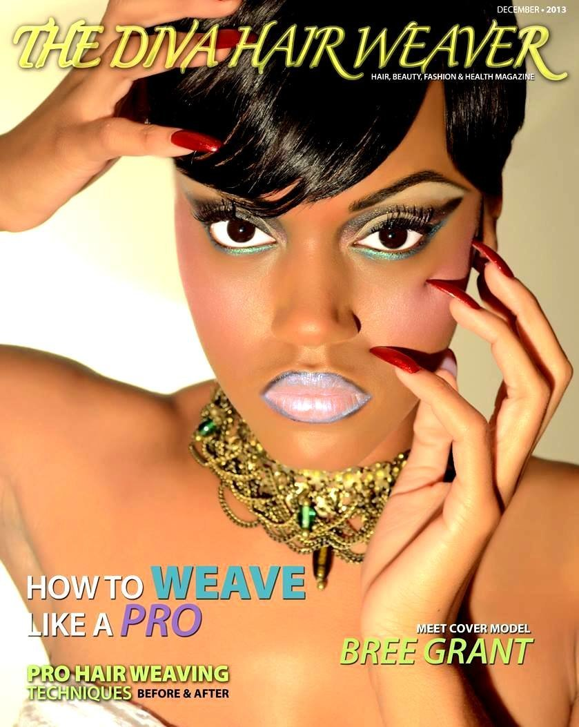 BREE GRANT on the cover of THE DIVA HAIR WEAVER.