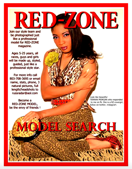 TARREN is featured on the cover of RED-ZONE magazine.