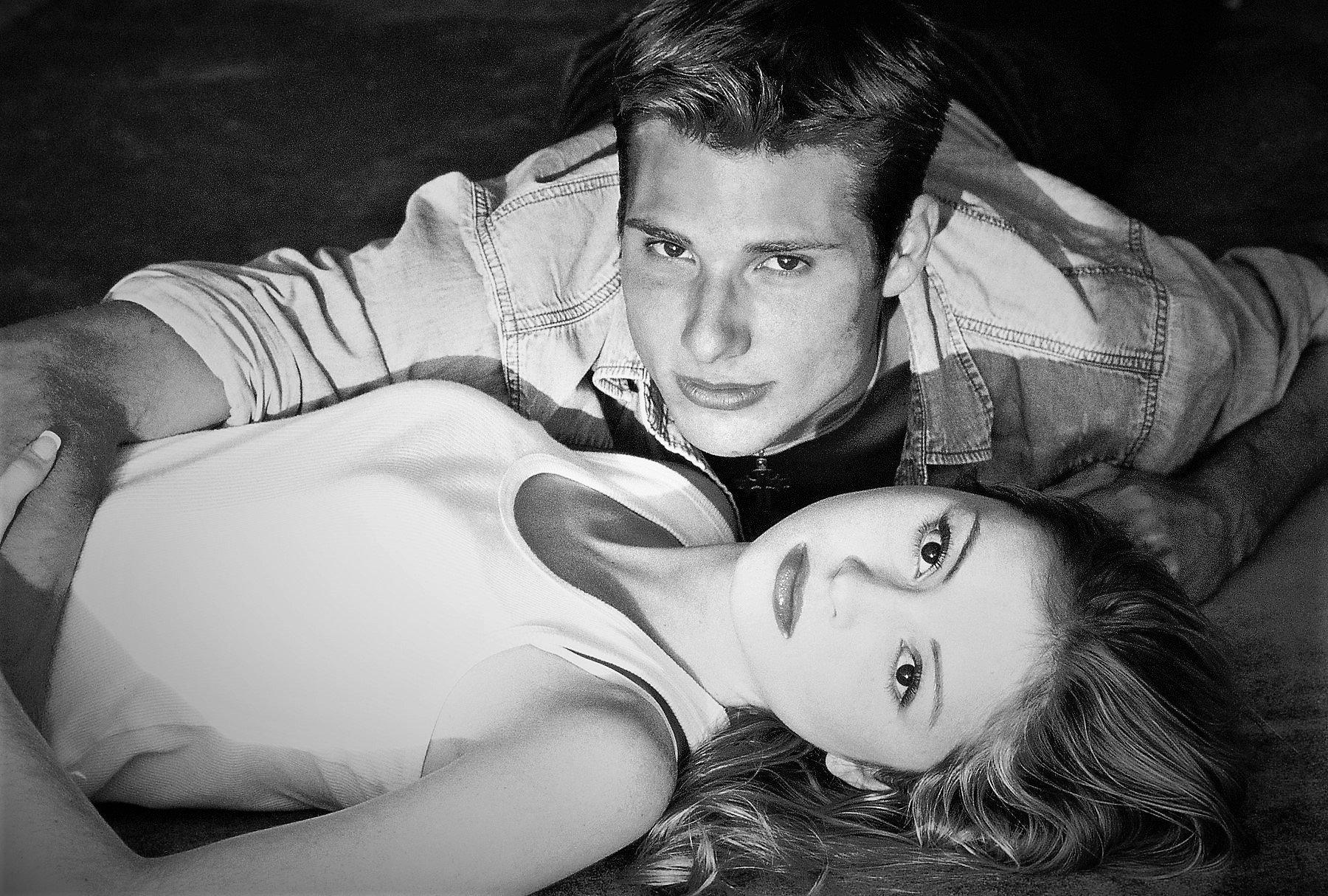 MODEL COUPLE LUKE AND MARISSA