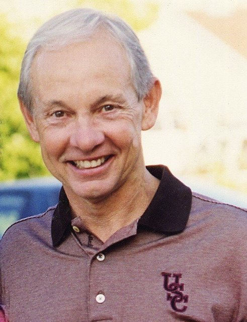 HALL OF FAME USC COACH DAVE ODUM -  COMMERCIAL HEADSHOT