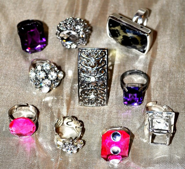 RINGS AND MORE RINGS.