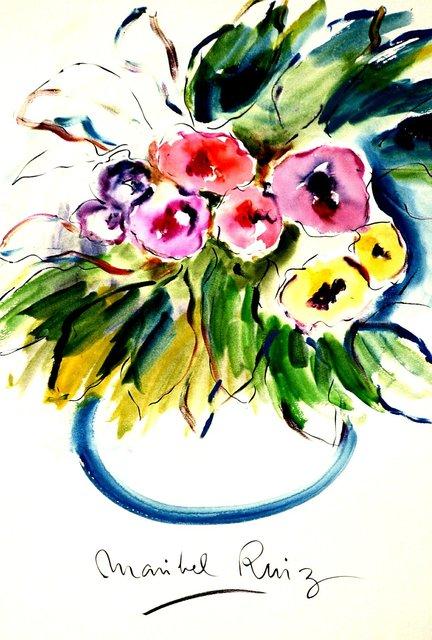 MARIBEL RUIZ  -  WORLD RENOWN INTL ARTIST/PAINTER FROM SPAIN.