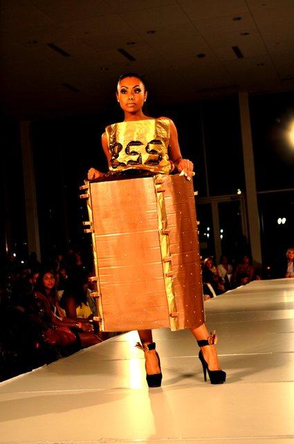 CHARLOTTE FASHION WEEK unconventional designs.