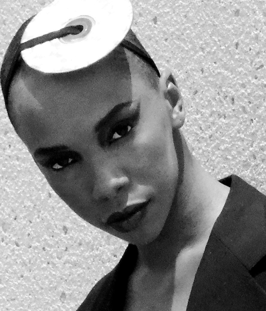 PAYING HOMAGE TO GRACE JONES IS INTENSE.