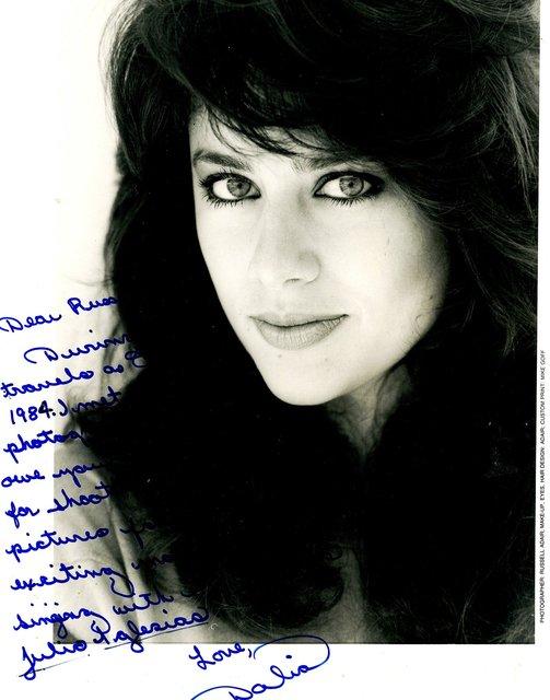 DALIA MERCEDES GARCIA -  INTL RECORDING ARTIST, VOCALIST, ACTRESS.  MISS S. CAROLINA.