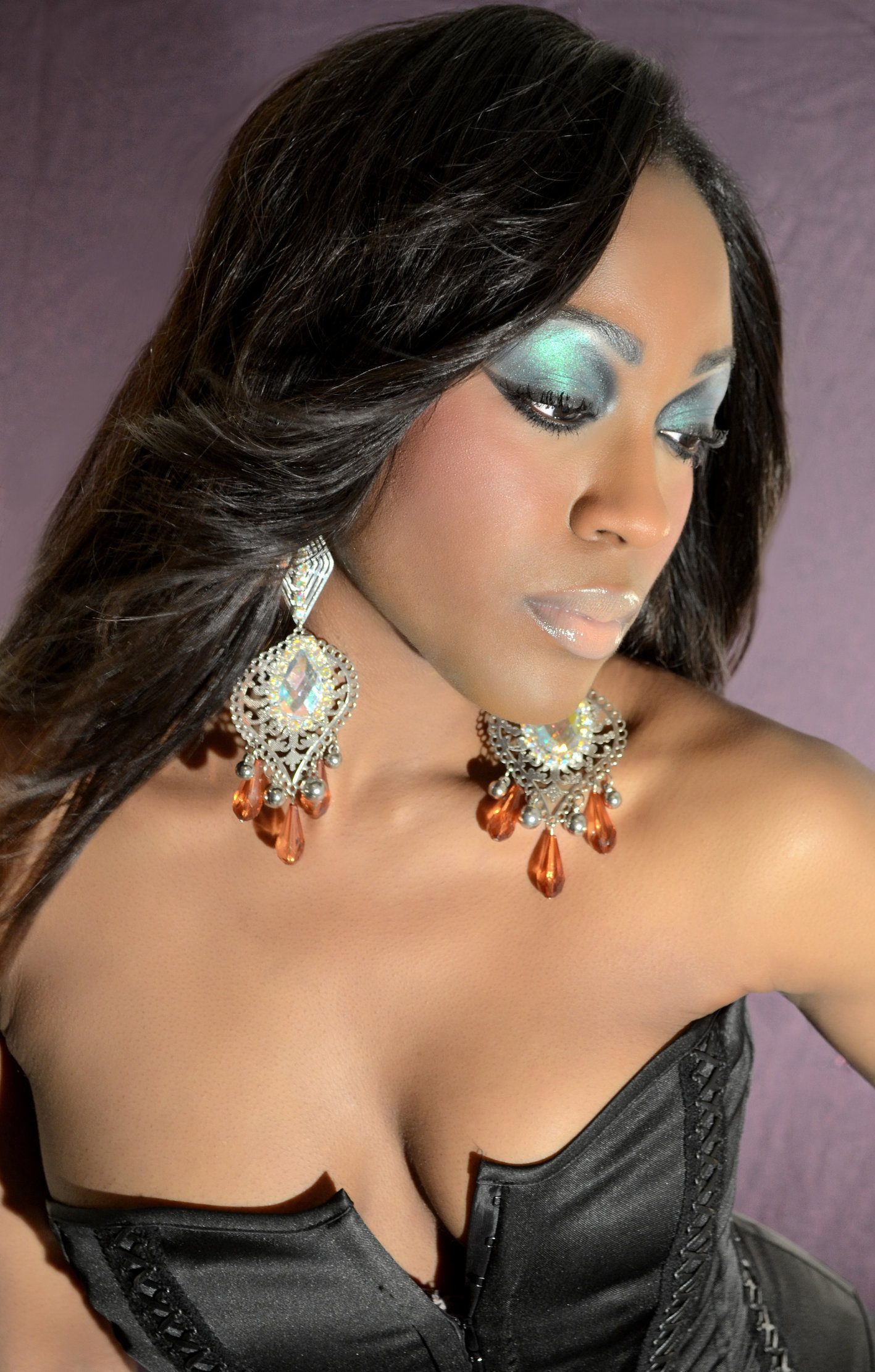 BIANCA CHARDEI was a finalist on AMERICAS NEXT TOP MODEL where she honed her modeling skills.