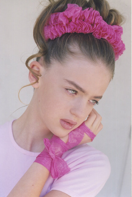 NIKI JANSEN  -   Age 12, a child beauty grew up to be a runway and print star.