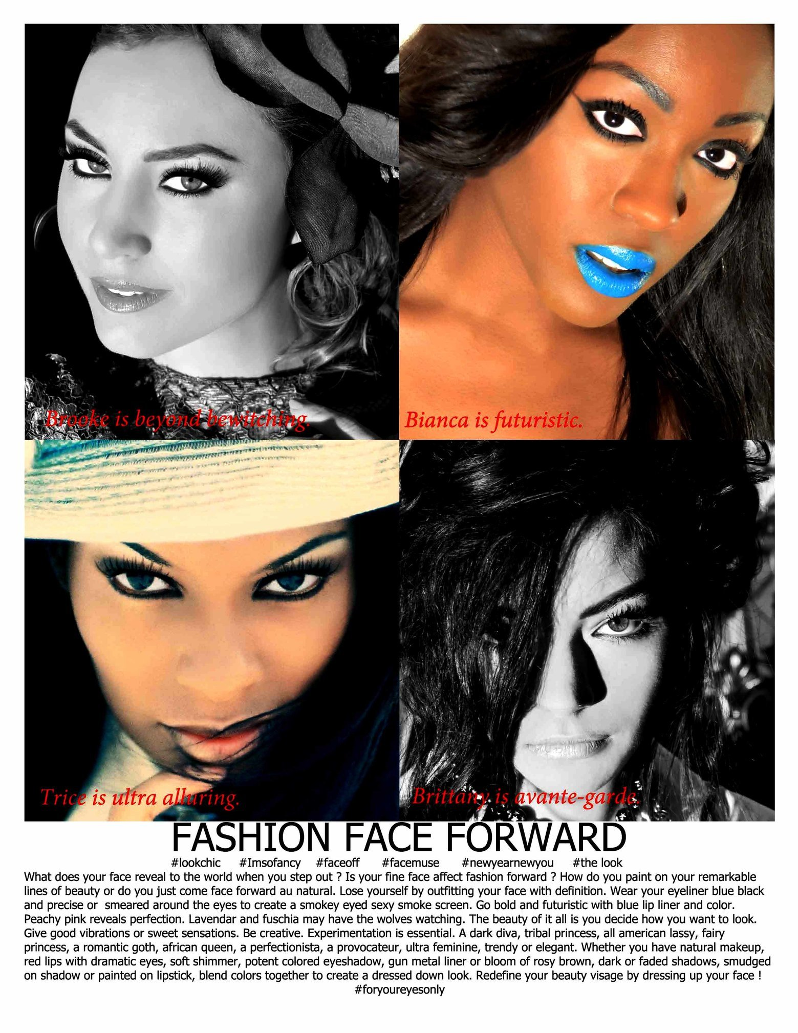 FASHION FEATURE for RED-ZONE magazine.