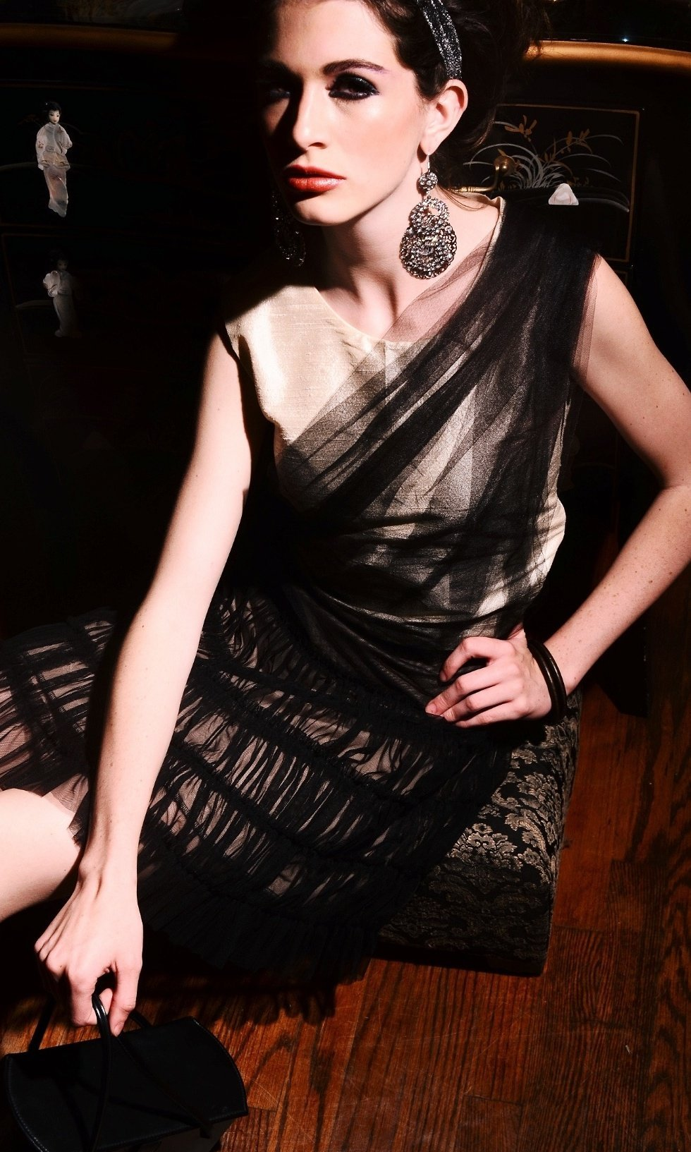 LAUREN FIRR- TEEN BEAUTY, MODEL has appeared in fashion shows for NYC designers.