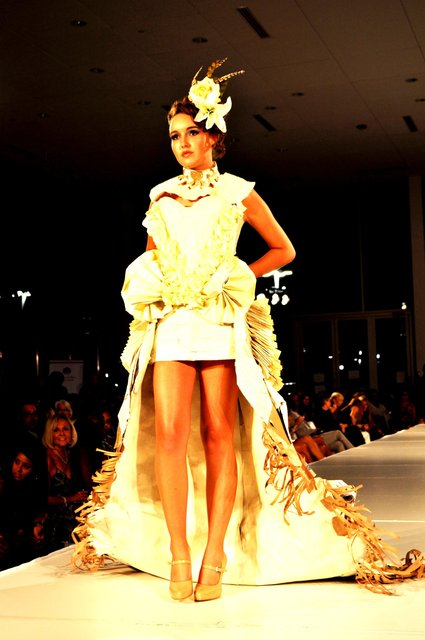 CHARLOTTE FASHION WEEK unconventional design with BIBLICAL proportions.