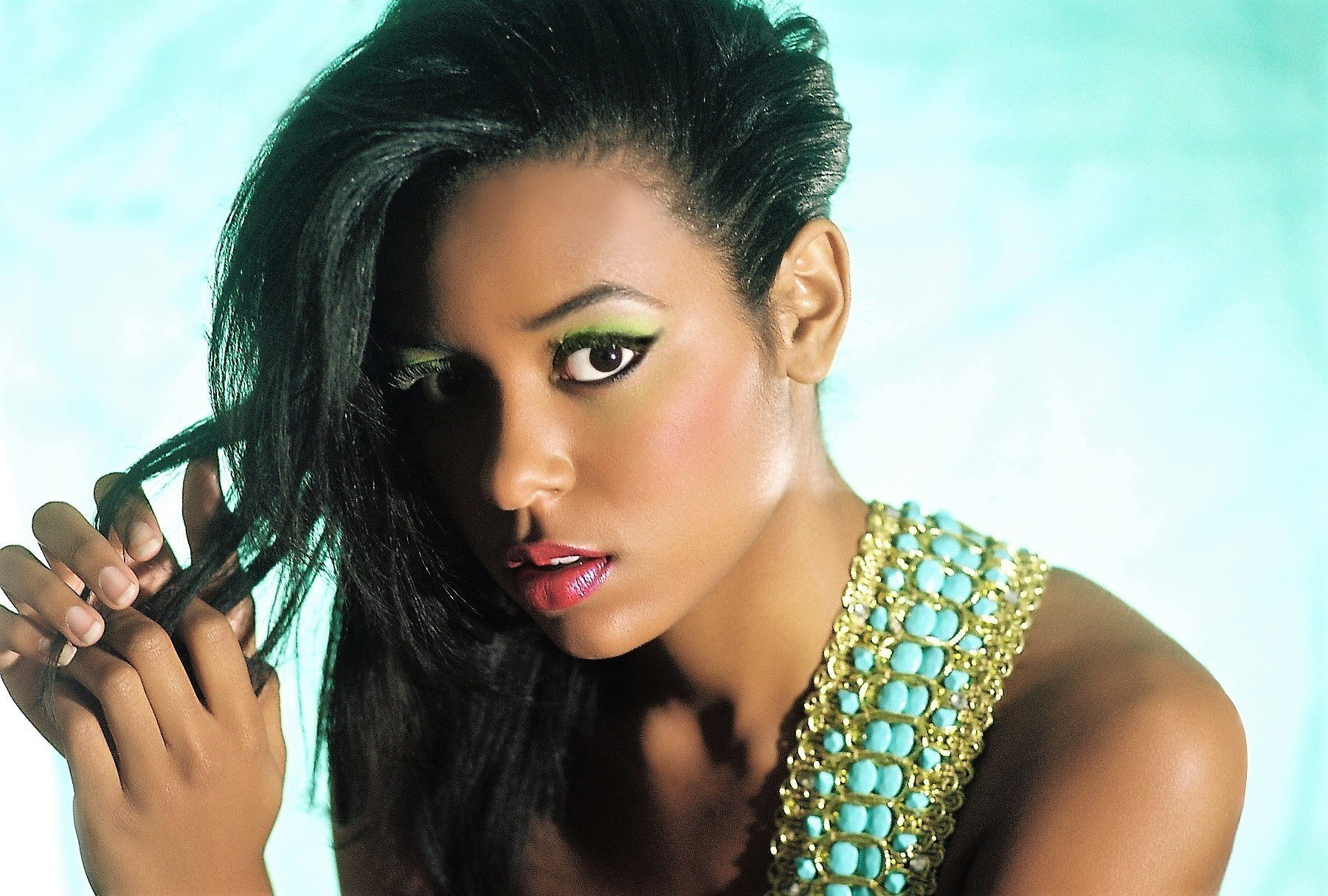 MEGAN PINCKNEY -  MISS SC-USA   She placed TOP 6 at MISS USA, and she is a former MISS SC TEEN USA.